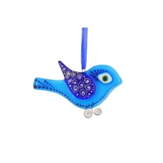 Интерьерная подвеска «Зимняя птица»