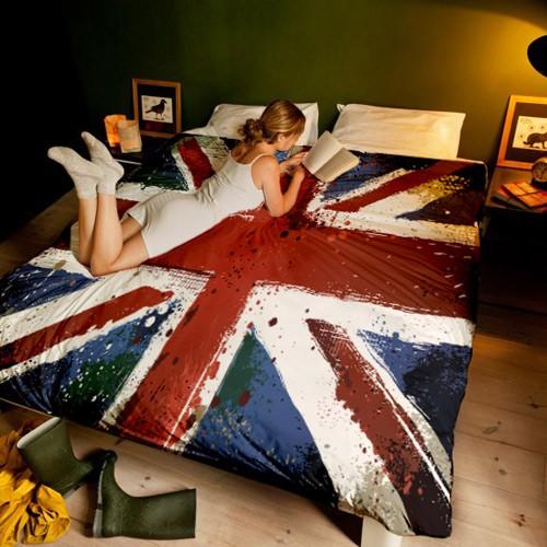 Постельное белье 1,5-спальное Юнион Джек