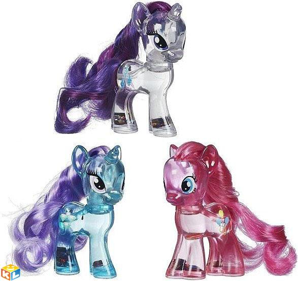 Фигурка Hasbromy Little pony с блестками