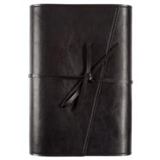 Ежедневник Strap черного цвета