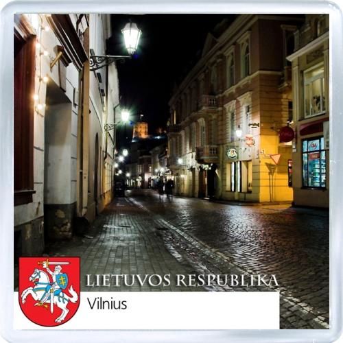 Магнит: Литва. Вильнюс, старый город