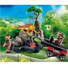 Конструктор Playmobil Dinos Динозавры. Искатели сокровищ