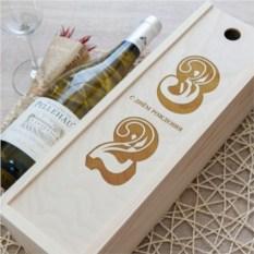 Коробка для вина Красивая дата