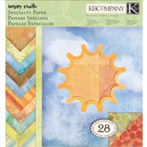 Набор бумаги для скрапбукинга K&Company Солнышко