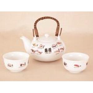 Чайный сервиз 3 предмета