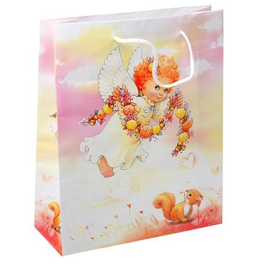 Пакет бумажный «Ангелочек»