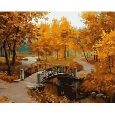 Картины по номерам «Золотая осень Евгения Лушпина