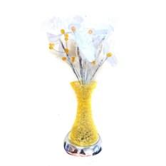 Светодиодные цветы в вазе