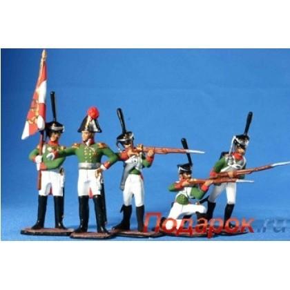 Набор солдатиков «Русские 1812г»