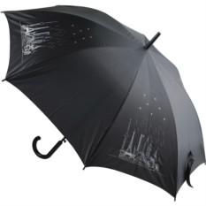 Зонт-трость 8 чудес света со стразами