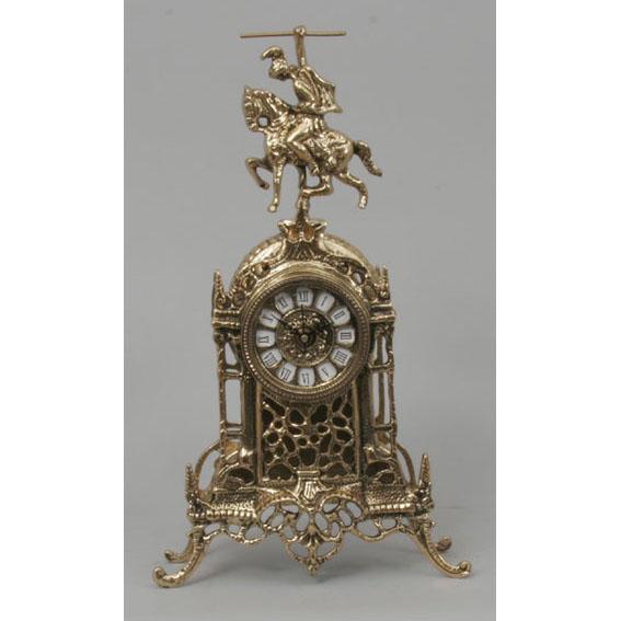 Часы настольные из бронзы Virtus  «Всадник»