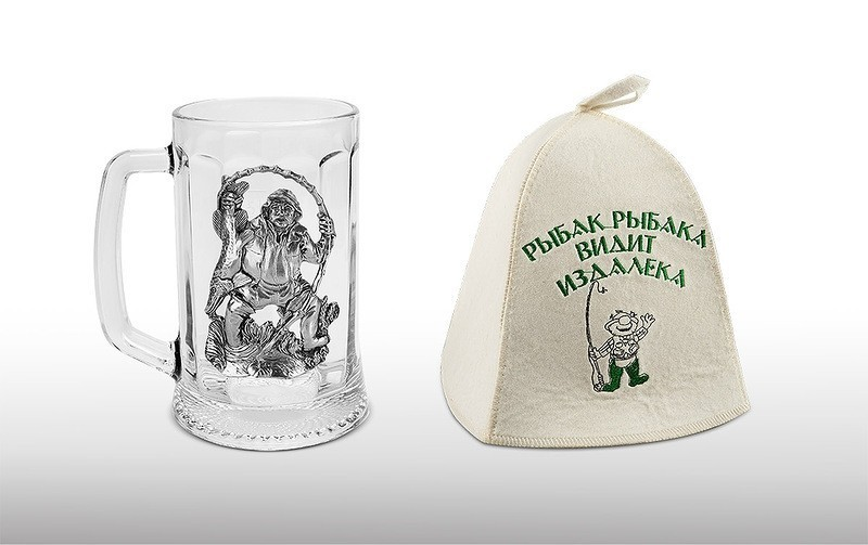 Коллекционная пивная подарочная кружка Клева Всегда