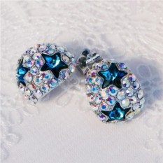 Серьги с кристаллами Сваровски «Звездное небо»