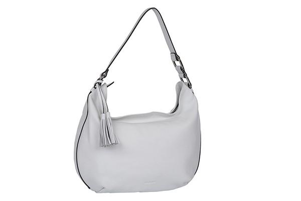 Белая кожаная сумка Palio из натуральной кожи