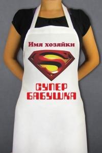 Фартук Супер бабушка
