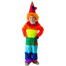 Карнавальный костюм Клоун Радуга