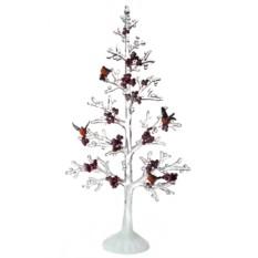Новогоднее украшение Елка со снегирями