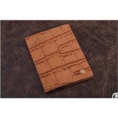 Обложка на паспорт/автодокументы «Терракотовая черепаха», коллекция G.Design (материал: кожа)