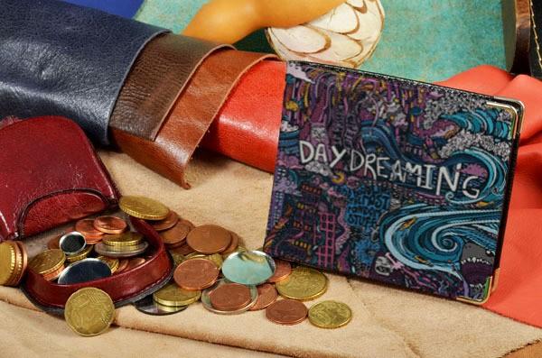 Портмоне с принтом Daydreaming