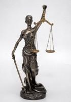Бронзовая статуэтка Фемида-Богиня правосудия