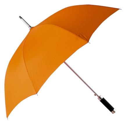 Зонт-трость Rumba, полуавтомат в чехле, оранжевый