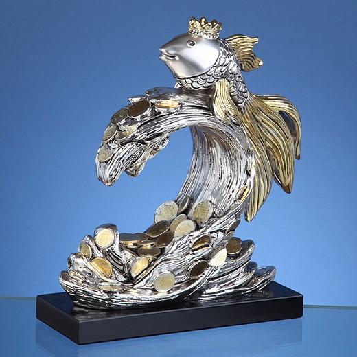 Статуэтка Золотая рыбка малая