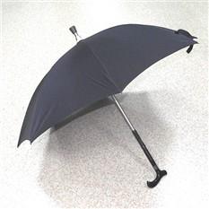 Зонт с тростью в наборе (черный)