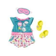 Пижамка с обувью для куклы Zapf Creation Baby born