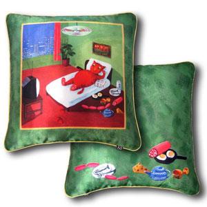 Дизайнерская подушка «Холостяк»