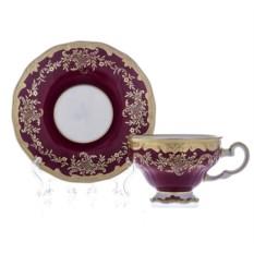 Кофейный подарочный набор Ювел красный Weimar Porzellan