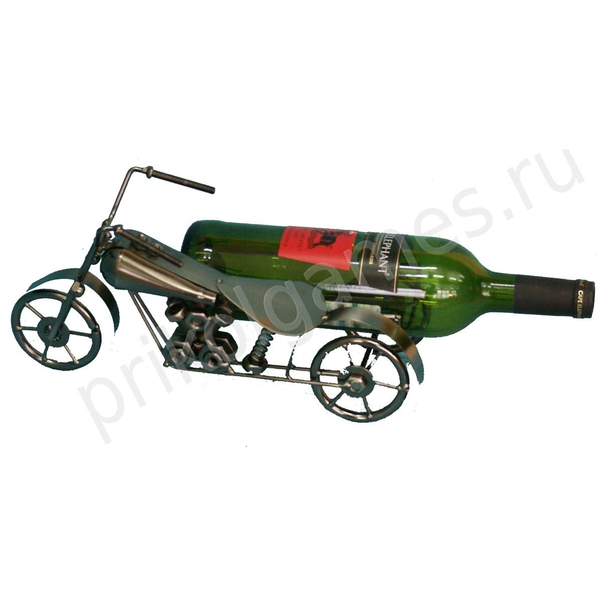 Подставка для бутылок Мотоцикл
