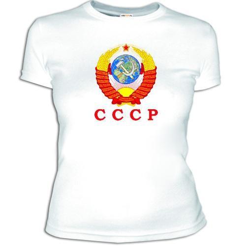 Женская футболка 'СССР'