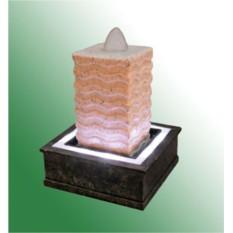 Фонтан с помпой Волнистая пирамида