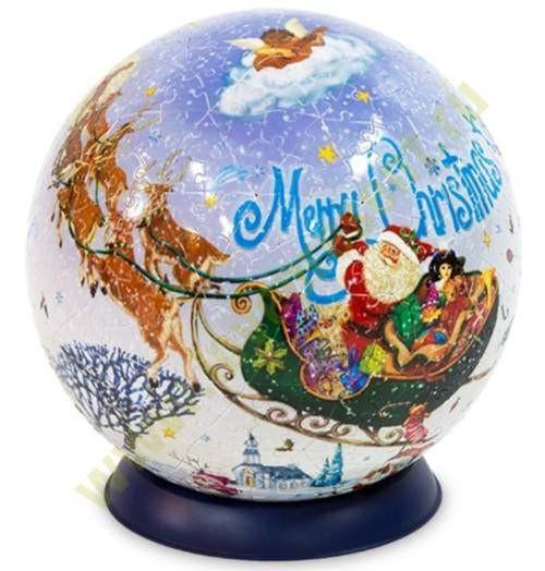 Шаровый Пазл Merry Christmas  (540 деталей, 23 см)