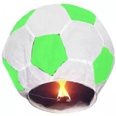 Бело-зеленый фонарь желаний Футбольный мяч