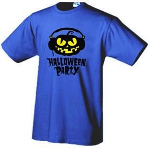 Футболка  Halloween Party DJ