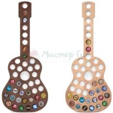 Копилка для пивных крышек Гитара