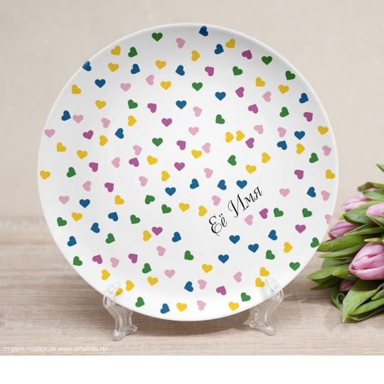 Тарелка Confetti