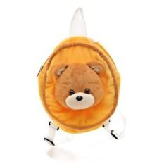 Плючевый медведь-рюкзак
