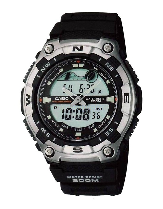 Мужские наручные часы Casio Hunting and Fishing AQW-100-1A