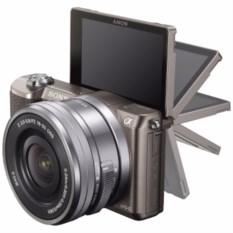 Серый цифровой фотоаппарат Sony Alpha ILCE-5100L Kit 16-50