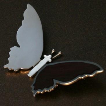 Серебряный кулон «Бабочка»