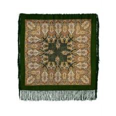 Павлопосадский шерстяной платок с рисунком Сады Шираза