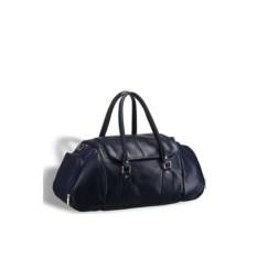 Кожаная дорожно-спортивная сумка Brialdi Modena (синий)
