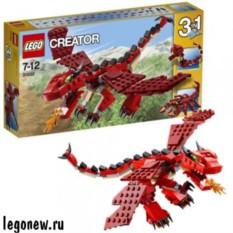 Конструктор Lego Creator Огнедышащий дракон