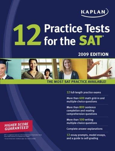 12 практических упражнений к SAT, 2009