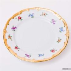 Набор из шести блюдец Мейсенский цветок