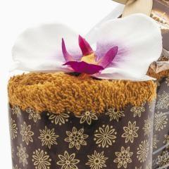 Полотенце Кекс Фуке с орхидеей