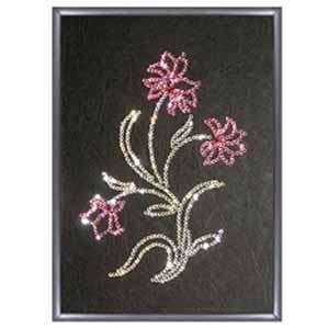 Хрустальная картина «Цветок»