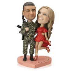 Статуэтка по фото на военную тематику «Голливуд завидует»